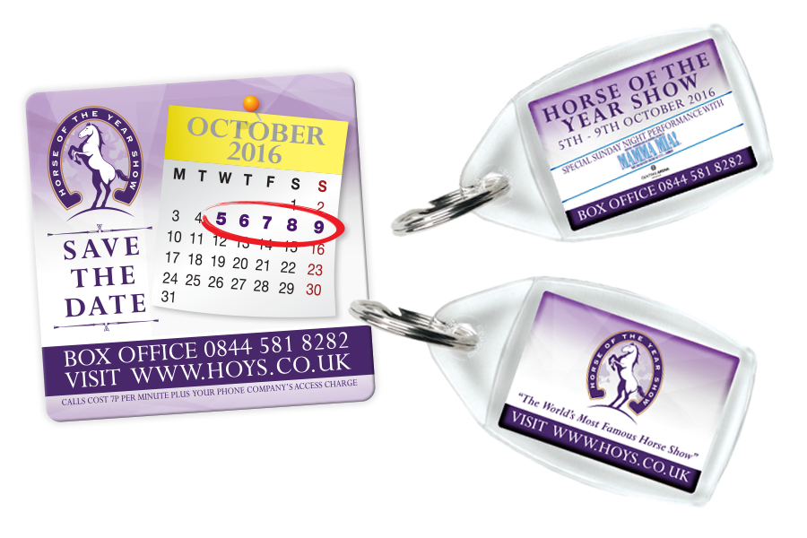 Save the Date Magnet & Keyrings